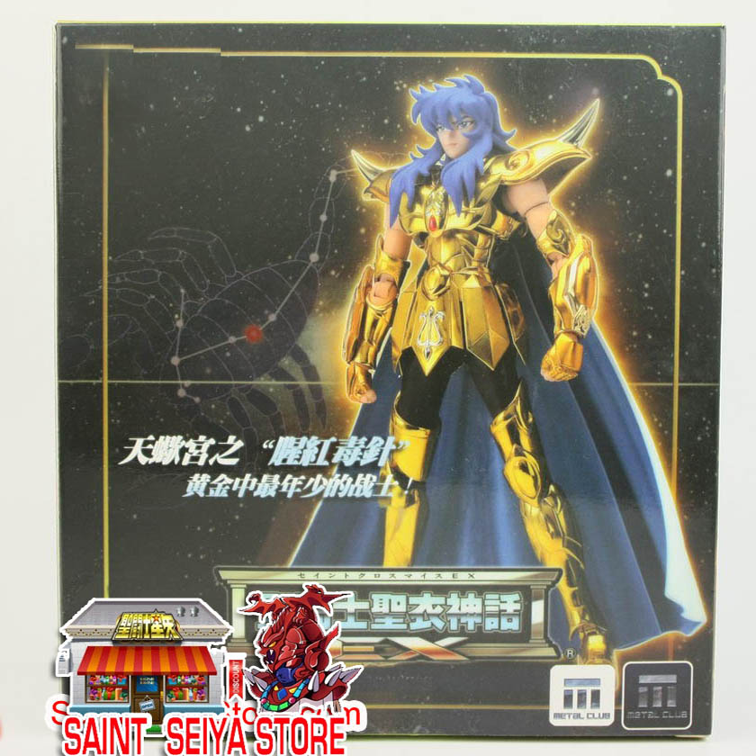 Здесь продается  Metalen Club Mc Saint Seiya Ex Mythe Doek Metalen Goud Scropion Scropio Milo Action Figure Model Kit Cavaleiros doen Zodiaco SMC  Игрушки и Хобби