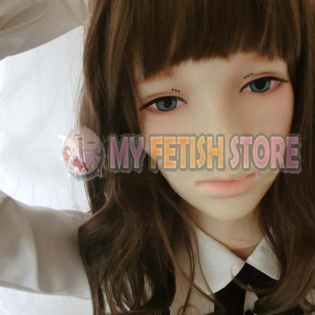 (Spring)Crossdress Soft Silicone Realistic Female/Girl Face Full Head Sexy Dollmask Crossdresser Mask With Wig silicone masks female with breast beauty woman latex mask crossdress female crossdresser d cup