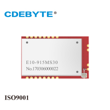 CDEBYTE E10-915MS30 1W SMD SPI 915MHz SI4463 SI4463 rf wireless receiver module transmitter module 2pcs lot cdebyte e18 ms1 ipx spi smd 2 4ghz cc2530 wireless zigbee smart home automation module