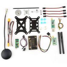 APM 2.6 Vuelo rc del coche w/6 M GPS, 3DR Telemetría de 915 Mhz, OSD, Módulo de potencia quadcopter drone con cámara partes