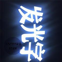 Factoy Выход Открытый акриловые led подсветкой букв для магазина