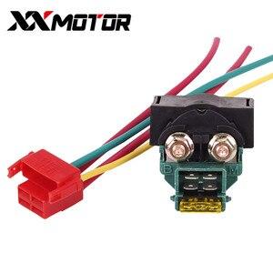 Электрические части мотоцикла lgnition клавишный переключатель стартер электромагнитное реле с вилкой для HONDA CBR250 MC19 CBR400 MC23 VFR400 NC30