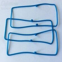 50X Colore Blu Impermeabile Guarnizione per Motorola GP3188 CP200 CP040 e così via Totale Nuovo