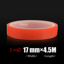 Best Quality 17mm*4.5m High Temperature transparent VHB Adhesive removable double sided tape Multi-role