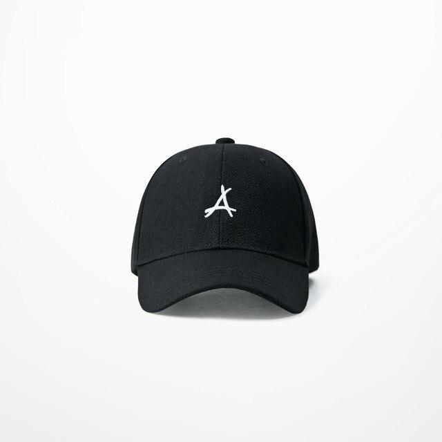Triangle Embroidery Fashion Baseball Cap Women Man Streetwear Dead Fly Hats  For Men Skateabord Hip Hop Cap 3b1b4c037b62