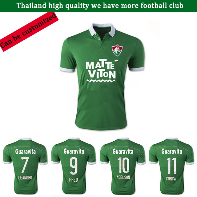 5e0259d5269 2016 1516 Fluminense Football Club green football jersey FRED KENEDY GERSON  Palmeiras Sportswear Football Shirts jerseys