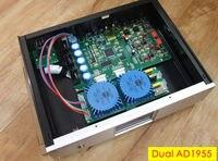 2018 Новый HiFi двойной AD1955 полностью сбалансированный ЦАП Hi Fi аудио декодер D/A Converter DSD DOP/FPGA рабочего мини усилитель