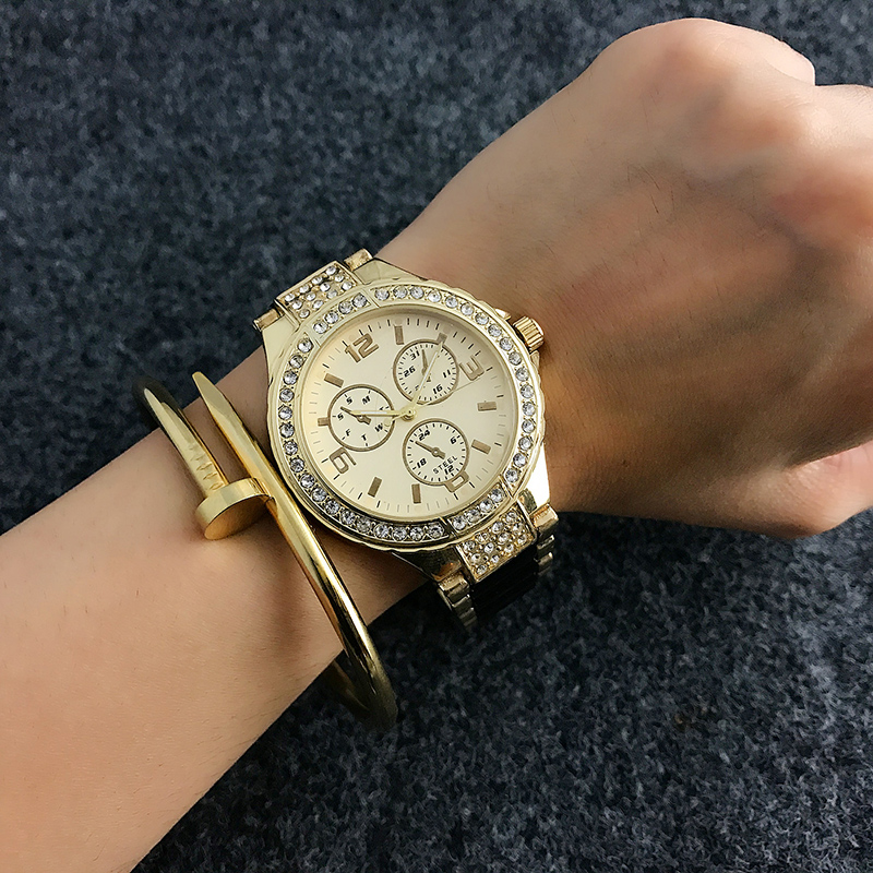 CONTENA Fashion Bracelet Wrist Watch Women Watches Top Brand Luxury Crystal Women's Watches Clock saat relogio feminino montre baile big man iii телесная насадка реалистик удлиняющая с широким основанием