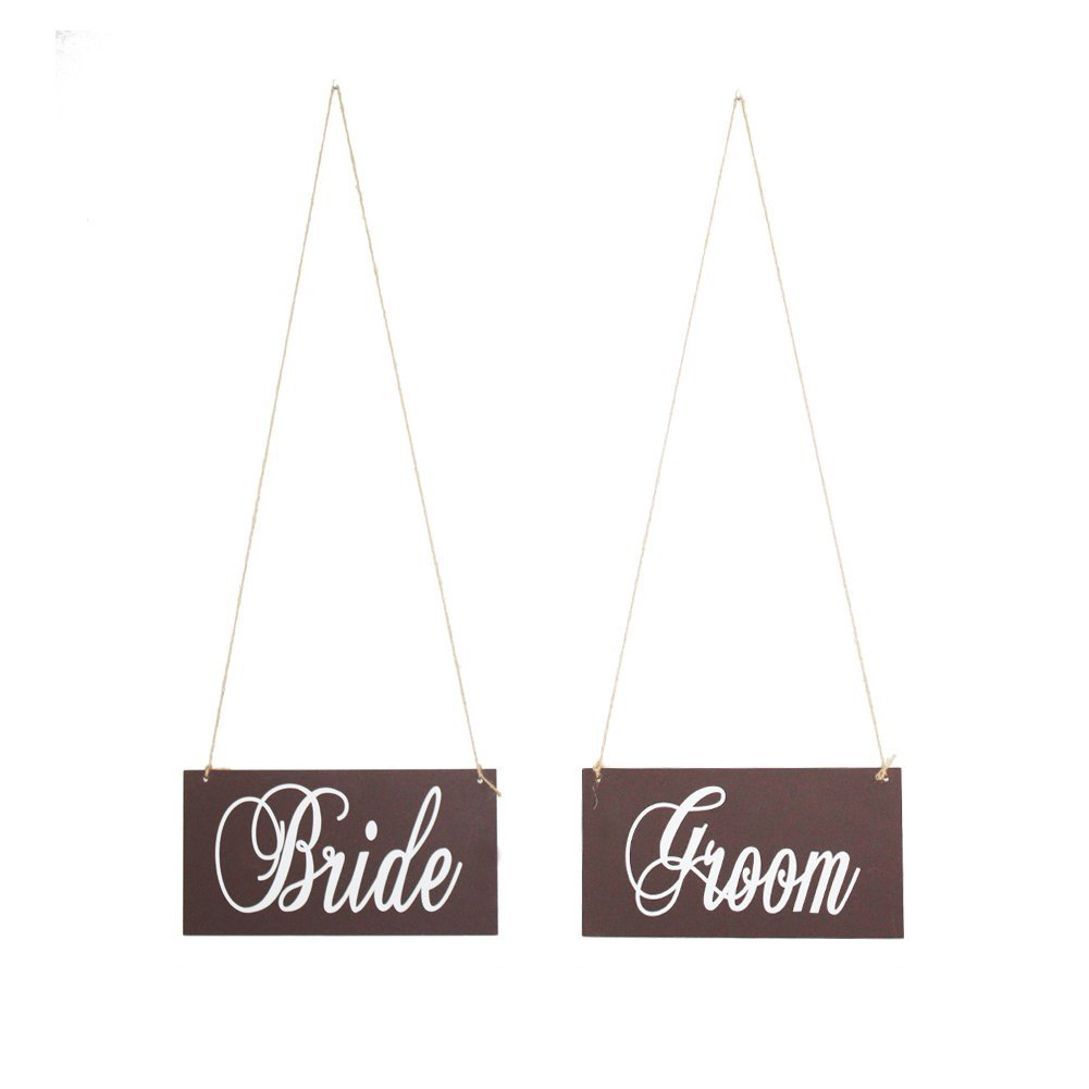 Лидер продаж деревянный Жених и невеста свадьба стул украшение знак, свадебные реквизит  ...