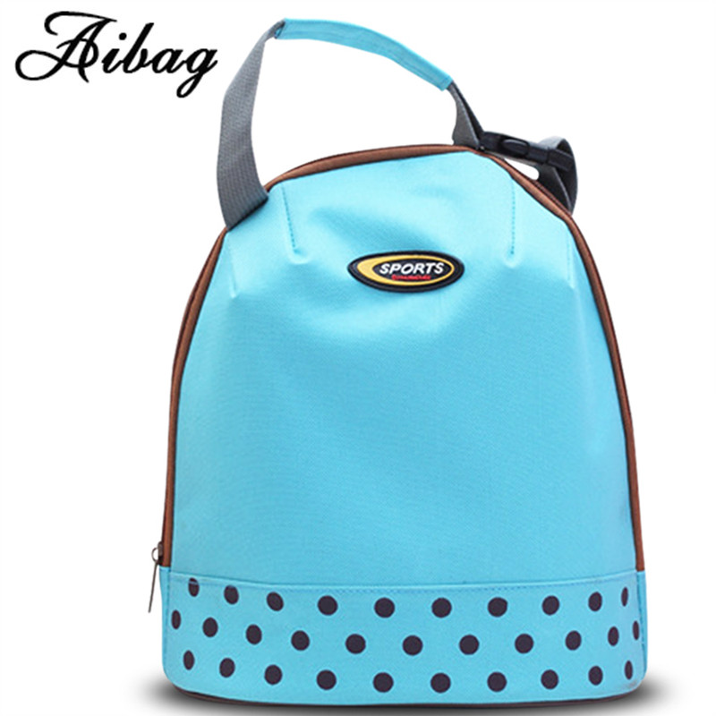 AIBAG Fashion Portable Insulated Canvas lunch Bag Thermal Food Picnic Lunch Bags for Women kids Men Cooler Lunch Box Bag Tote