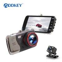 ADDKEY Original 4 0 Inch IPS Screen Car DVR Camera Dual Lens Rearview Camera T810 Oncam