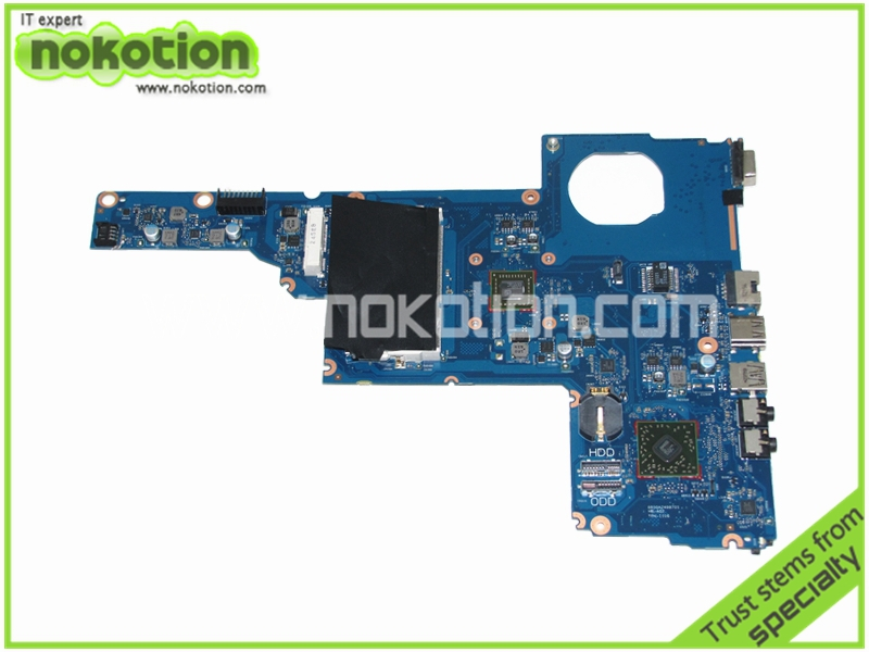 NOKOTION 688277-001 laptop motherboard for HP Pavilion 1000 2000 450 Series E2-1800 Mainboard nokotion sps v000198120 for toshiba satellite a500 a505 motherboard intel gm45 ddr2 6050a2323101 mb a01