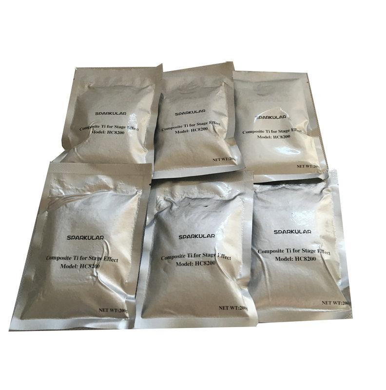 купить Showen Sparkular 1-5M DMX Spark Machine Powder 200G/bag for Stage Cold spark machine 120G Fireworks TItanium Metal Powder онлайн