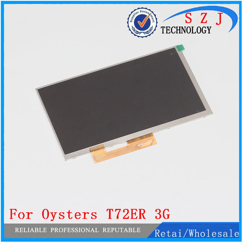 New 7'' inch LCD Display Matrix For OYSTERS T72ER 3G TABLET inner 30pin LCD Screen Panel Lens Frame replacement Free Shipping oysters t72er 7 4gb 3g black