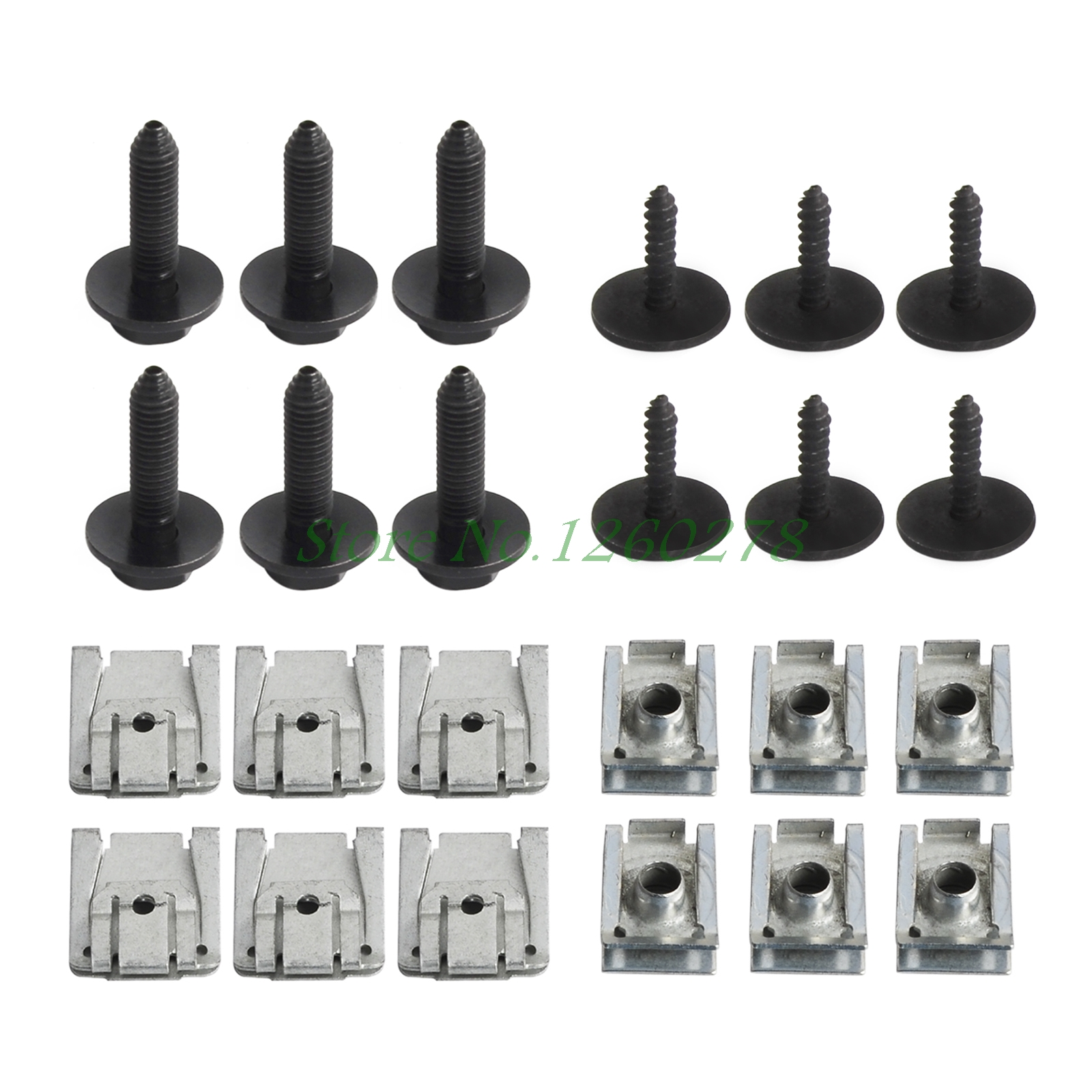 Engine Undertray/Under Cover Clips Screws For Mercedes-Benz C-Class W203 W204 CL203 T-Model S203 S204