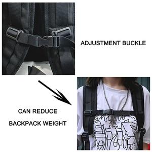 Image 5 - Rétro unisexe sac à dos grande capacité en cuir PU haute qualité femmes sac à dos tourisme jeunesse multi fonction sac angleterre Style