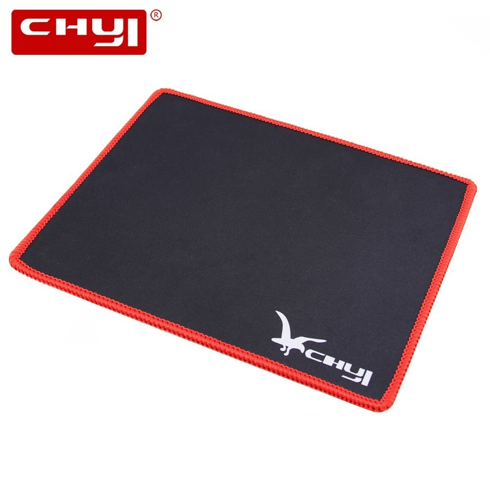 CHYI Computer Mouse Pad For Gaming Mause Gamer Mini Size Rubber Mousepad Cheap Portable Accessories For PC Laptop Notebook Mice image