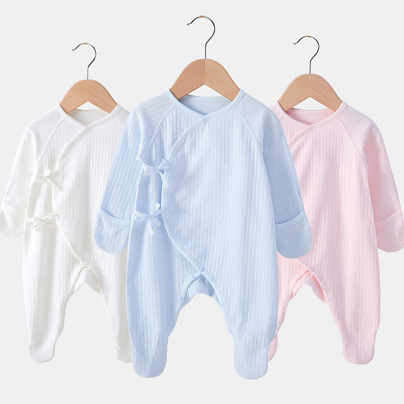 2019 New Born Baby Clothes 100% Cotton Boy Romper Baby Long-sleeve Newborn Rompers Toddler Infant Baby Girls Boys Clothing