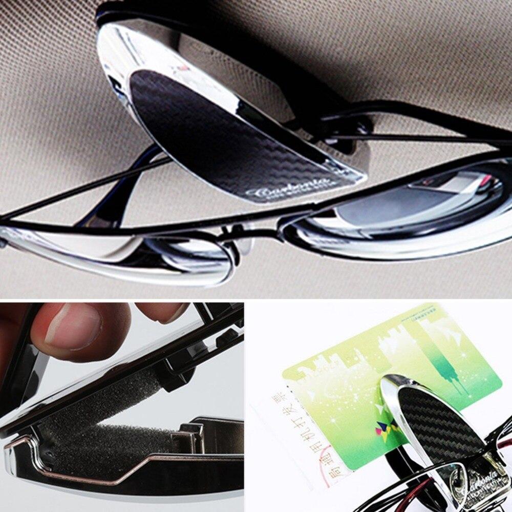 CARMATE CSZ303/CSZ304 Universal Tragbare Auto Sonnenblende Brille Clip Sonnenbrille und Karten Clip Schutzhülle Clip Halter