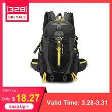 40924794a630 40L 防水戦術的なバックパックハイキングバッグサイクリング登山リュックサックラップトップバックパック旅行アウトドアバッグ男性女性スポーツバッグ