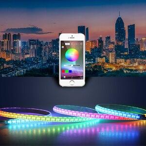 Image 5 - DC 12V 24V RGB Ha Condotto Il Regolatore APP Bluetooth Controller di Musica RGB Per La Luce di Striscia del Led 5050 4 Spille mini Regolatore di RGB 5 V 24 V