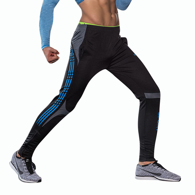 Man pants workout soccer training gym tights absorb sweat hawaiian beach tennis for gym pants basketball compressed