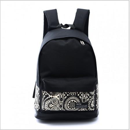 sacs 2015 à dos femmes tendance l'étudiant adolescent de sac à mode à de l'arrivée fleurs sacs dos nouveaux mode coréenne dos imprimé sac de casual école 6nZP6r4