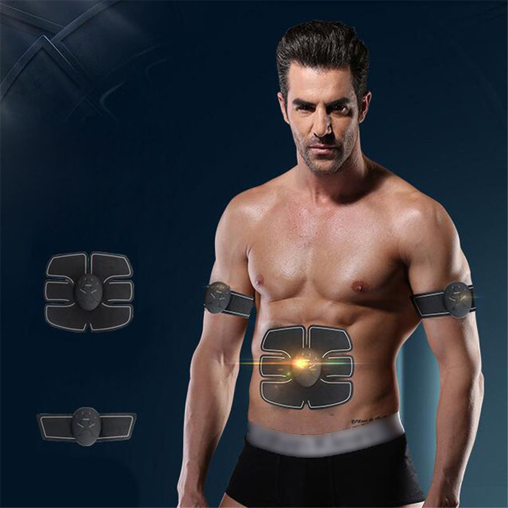 Muscle Training Body Shape Fit Set ABS Six Pad Massage Trainer Sticker Controlle Abdominal Muscle Intelligent Fitness