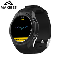 1 Year Warranty MAKIBES G05 Pro GPS Bluetooth Smart Watches Heart Rate Monitor Call Message Reminder Music Player Multiple Sport