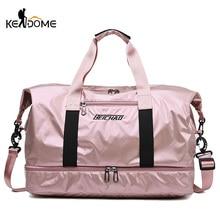 Gym Bag Women Fitness Training Handbag With Shoes Pocket Waterproof Sport Yoga Pack Travel Duffel Balso Sac De Sporttas XA109D
