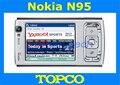 Abierto Original Nokia N95 teléfono celular 3G GSM teléfono móvil con Cámara de 5MP WIFI GPS Envío Libre