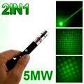 Супер мощный лазерный указатель перо 2на1 Puntero лазерная 5 МВт мощный Caneta лазер зеленый сине-фиолетовый лазер верде со звездой крышкой высокое качество