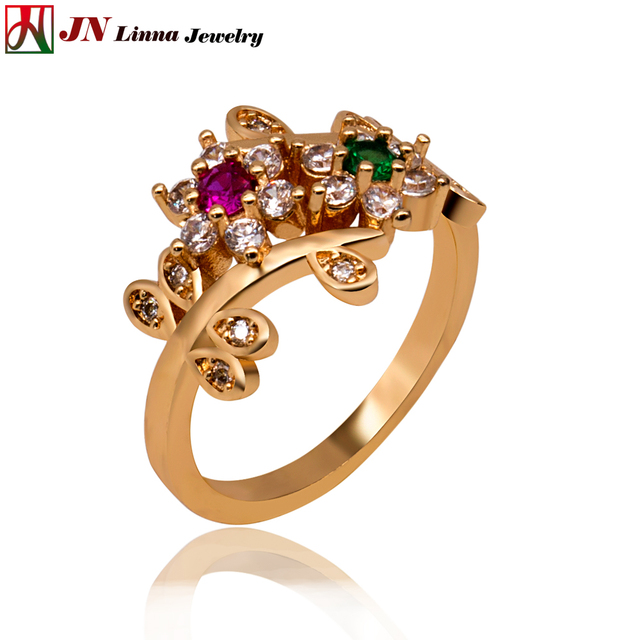 Jn Southeast Asian Fashion Ladies Ring High Quality Copper Jewelry