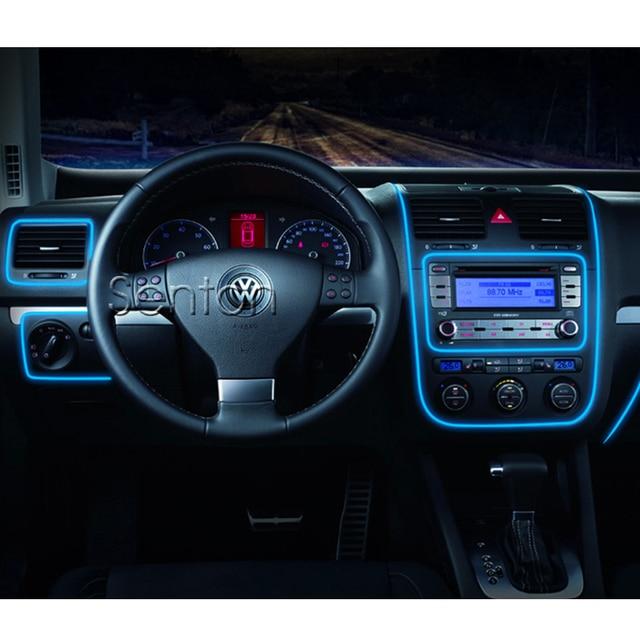 auto interieur sfeer verlichting voor volkswagen vw polo passat b5 b6 cc golf 4 5
