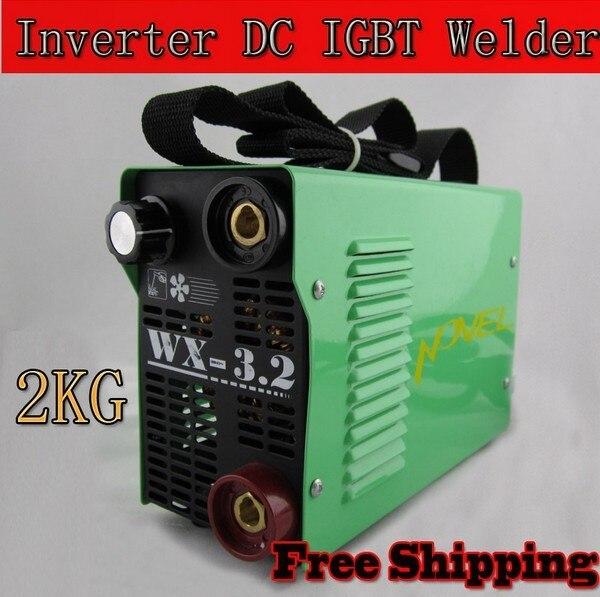 Novel New protable 3.2MM electrode IGBT ARC inverter Welder DC 220Volt welding machine/welding equipment for family use
