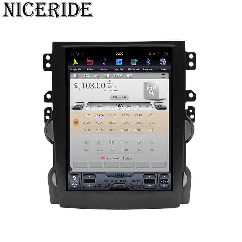 """Cheap Android 7.1 10.4"""" Tesla Vertical Touch Screen Gps Multimedia for Chevrolet Malibu 2010-2014 Video Radio Player In Dash Navigaton 1"""