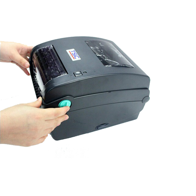 TSC TTP-244CE Thermal barcode label printer with 4 inch per second print speed and Max.Print Width 4.25inch newest original print head compatibility with tsc ttp247 barcode label printer