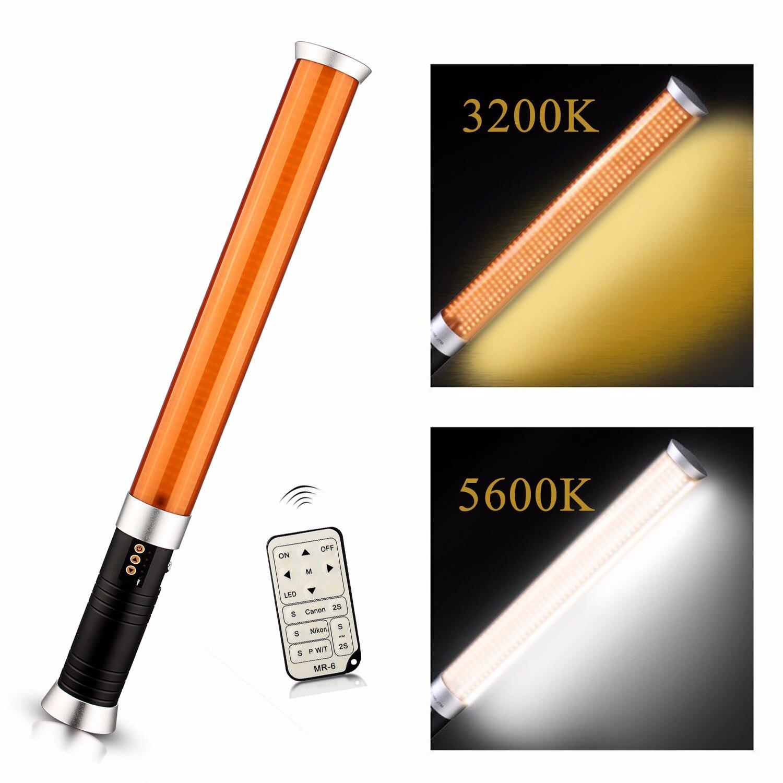 Travor MTL 900 II 55 см портативный ручной 298 шт светодиодный бисер Волшебная трубка свет 5600 K/3200 K MTL 900 II как Лед Свет - 4