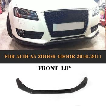 A5 Carbon Fiber Front Bumper Diffuser Lip For Audi A5 2010 2011 (not for Sline S5 Bumper) jc 20130709 1