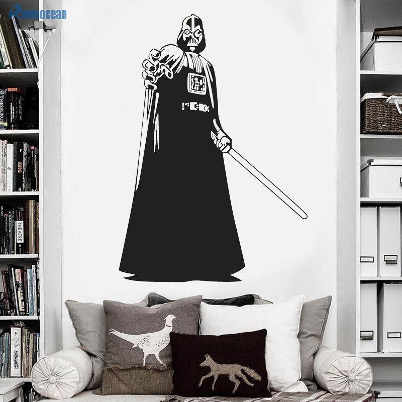 ξwall Decorations Living Room Jedi Knights Star Wars Childrens Wall