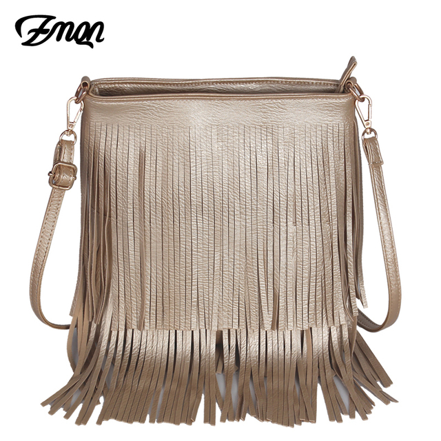 a6f521fd4492 ZMQN Brands Fashion Women Messenger Bags Tassel Leather Small Crossbody  Shoulder Bags For Womens Long Tassel Lady Side Bags A530