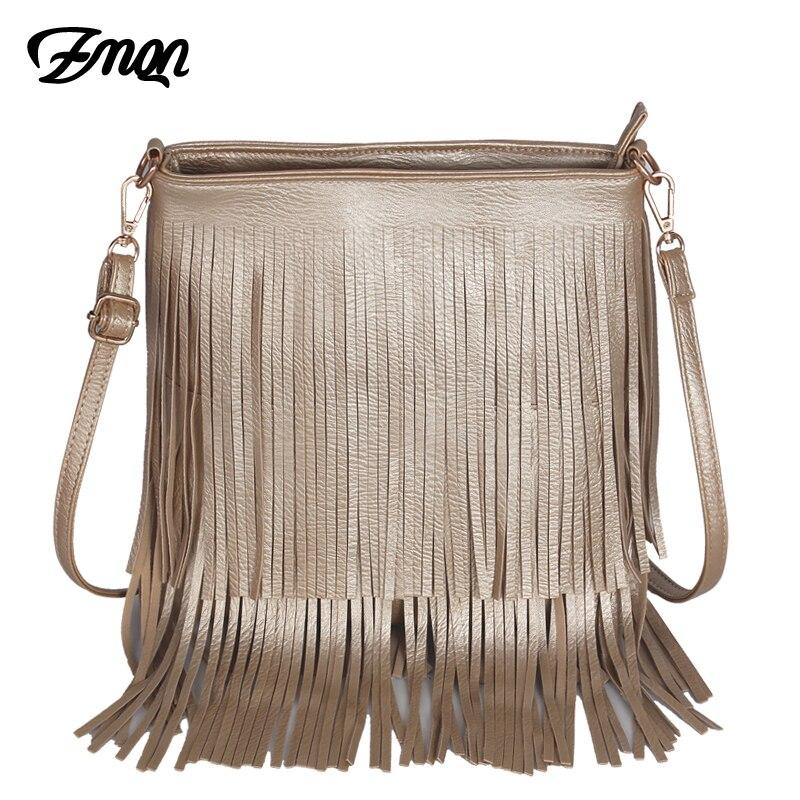 Zmqn брендов модные женские туфли Курьерские сумки кисточкой Leather Small Crossbody сумки на плечо для Для женщин S длинной кисточкой леди боковые сумк...