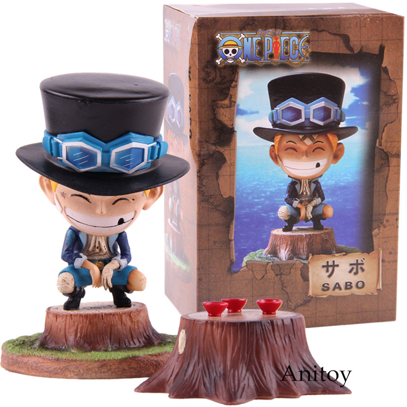 Anime One Piece Sabo Figure PVC Onepiece Action Figures Collectible Model Toy