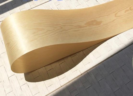 2Pieces/Lot  L:2.5Meters Wide:150mm Thickness:0.25mm Pine Pattern Wood Veneer