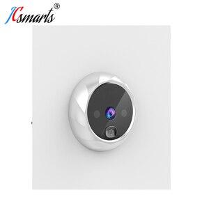 Image 5 - Smart Elektronische deurbel Kamera Video Guckloch Auf Tür Mirilla Digitale Puerta Tür Viewer Mit IR Leds