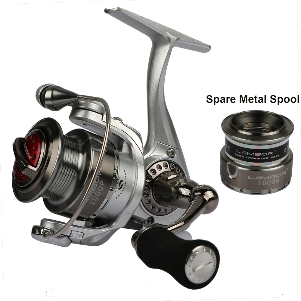 Haibo brand spinning fishing reel with with spare spool for Fishing reel brands
