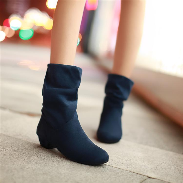 2016 Autumn Ankle Boots Women Shoes Flat Heel Casual Women's Fashion Autumn Boots Lady Suede Martin Boot High Quality black women boots flat heel casual