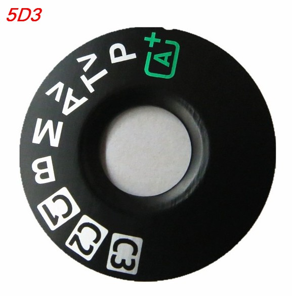 For Canon 5D3 6D 5D2 5DII 5DIII 5D4 5DIV 5D MARK IV 80D Mode Dial Pad, Turntable Patch, Tag Plate Nameplate Camera Repair Parts