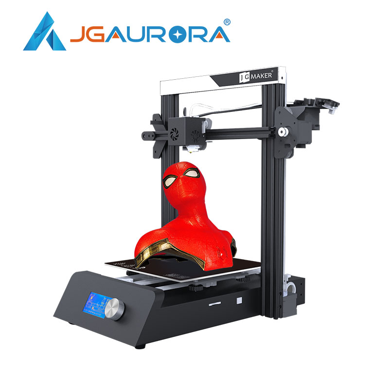 JGAURORA JGMAKER Magia 3D Impressora De Alta Precisão Grande Construir Tamanho 220X220X250mm V-slot para Retomar falha de energia FEBRE AFTOSA de Impressão Da Impressora