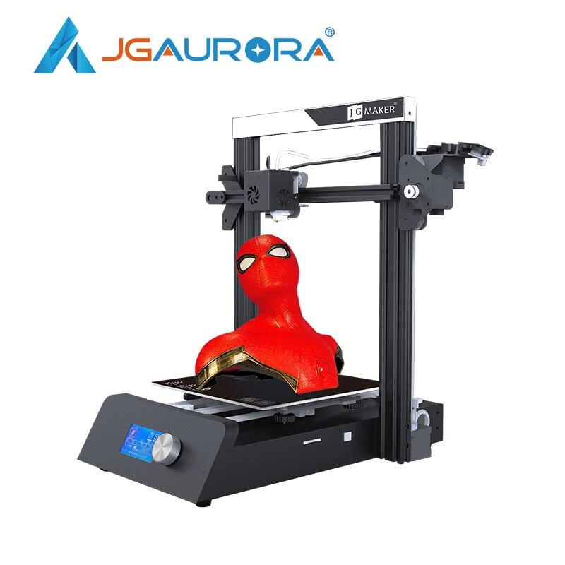JGAURORA JGMAKER Magia 3D Stampante Ad Alta Precisione Grande Costruire Dimensioni 220X220X250mm V-slot per Riprendere mancanza di alimentazione Stampa FMD Stampante
